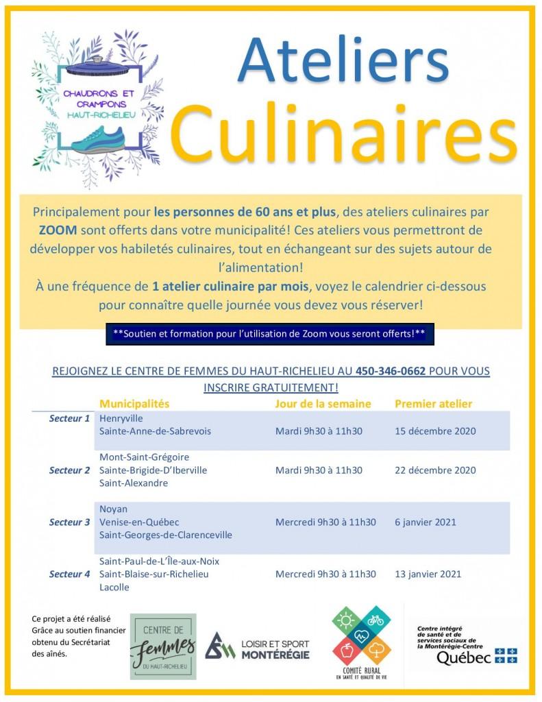 Affiche promotion_ateliers culinaires_Chaudrons et crampons-ajoutzoom